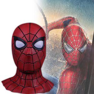MASQUE - DÉCOR VISAGE Vengeurs 3 guerre infini spiderman masque super hé