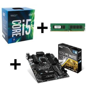 PACK COMPOSANT KIT Evo Intel Processeur Kaby Lake - Core i5-7400