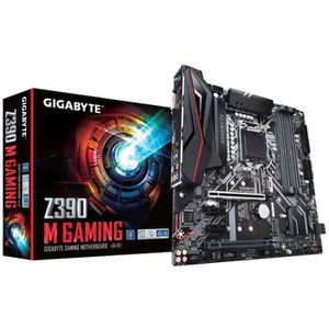 CARTE MÈRE Carte mère Gigabyte Z390 M Gaming, Intel Z390 - So