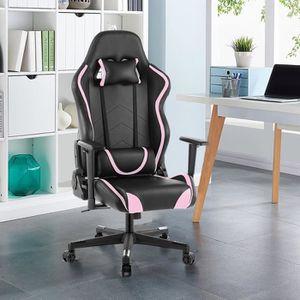 SIÈGE GAMING Chaise de bureau LANGRIA - Fauteuil de bureau RACI