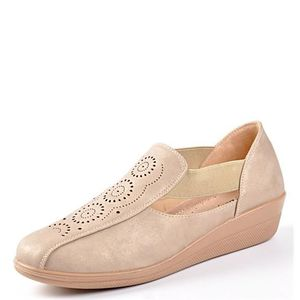 MOCASSIN LOAFERS BEIGE