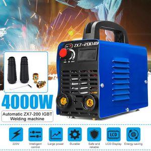 FER - POSTE A SOUDER NEUFU ZX7-200 Portable Poste à Souder 220V IGBT In