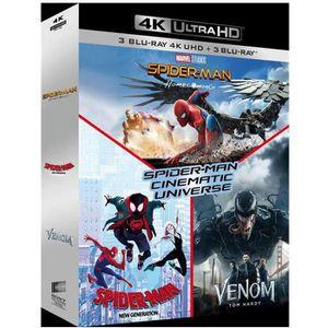 BLU-RAY FILM Coffret Spider-Man Cinematic Universe 3 Films : Ho