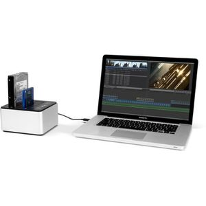 PACK PERIPHERIQUE OWC Drive Dock 1 To - Double Dock Thunderbolt 2 -