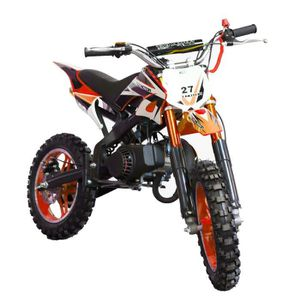 MOTO TAOTAO Dirt Bike 50 cc 2 Temps DB10SA  Orange