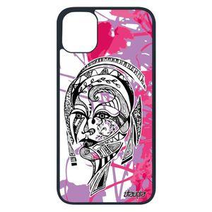 COQUE - BUMPER Coque silicone Apple iPhone 11 pro femme ethnique