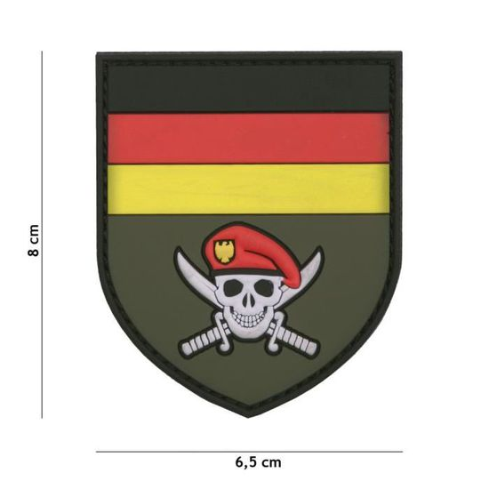 Cosplay Airsoft Patch 3D PVC La Faucheuse Italie Reaper Camouflage /…