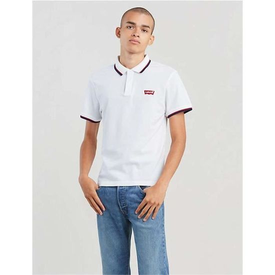 69948 Levis White Polo Homme Modern AS5Lc4qR3j