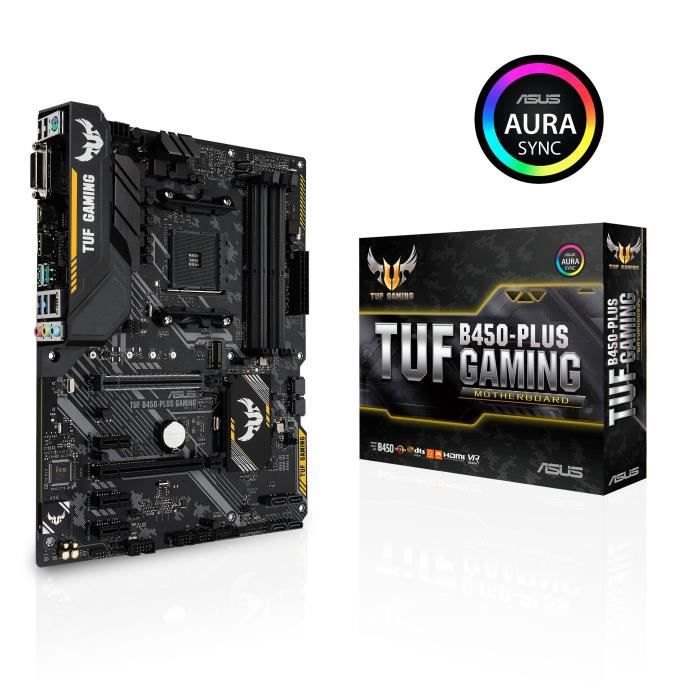 Carte Mère ASUS TUF B450M-PLUS GAMING - AM4