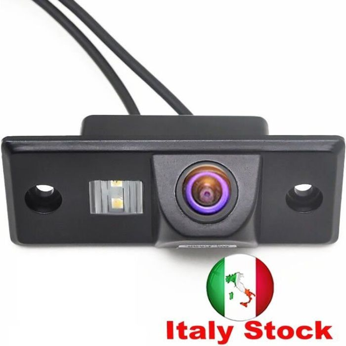 Caméra de recul de vue arrière de voiture pour Pors-che Cayenne Vw Volkswagen Skoda Fabia/santana/polo (3c)/tiguan/touareg/passat