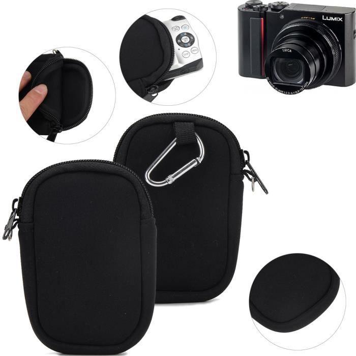 Pour Panasonic Lumix DMC-TZ202 Épaule Caméra Mallette transport Sac résistant chocs Météo protecteur compact housse étui saccoche