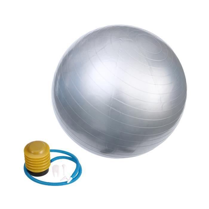 1 PC balle de Yoga professionnel pratique durable anti-rafale de Fitness pour le sport BALLON SUISSE - GYM BALL - SWISS BALL