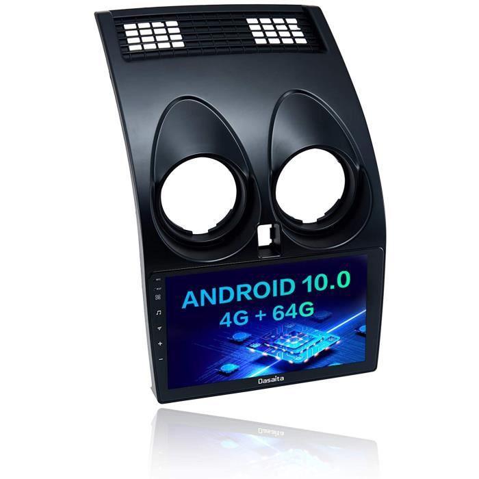 Dasaita Autoradio Bluetooth pour Nissan Qashqai J10 2008 2009 2010 2011 2012 2013 Carplay An oid Auto 4G RAM 64G ROM Head Unit T162