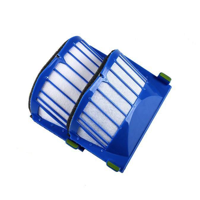 Lot de 2 filtres Irobot Roomba 500551552564580 5630650 Série Aspirateur Cleane ke28169