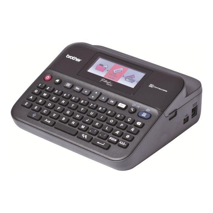Brother P-Touch PT-D600VP Étiqueteuse monochrome transfert thermique 24 mm de large 180 x 360 dpi jusqu'à 30 mm-sec USB…
