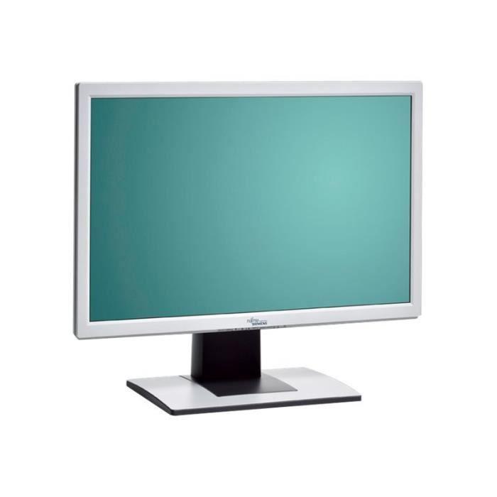 Fujitsu B22W-5 Écran LCD 22- (22- visualisable) 1680 x 1050 300 cd-m² 1000:1 5 ms DVI-D, VGA haut-parleurs