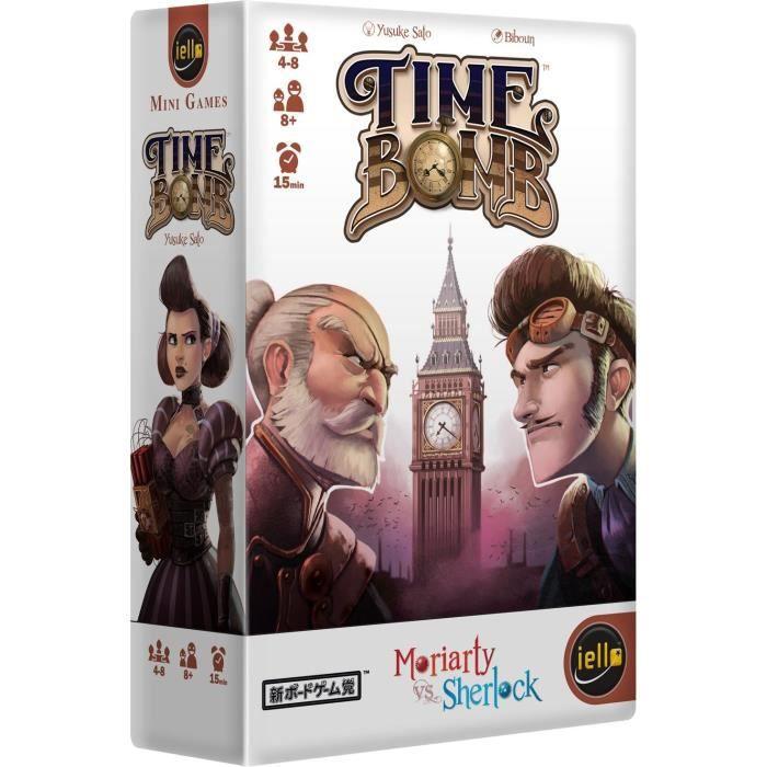 Timebomb - Jeu de société Bluff - Moriarty vs Scherlock - IELLO