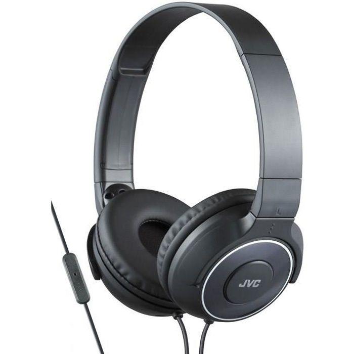 JVC HA-SR225 Noir Casque audio clos