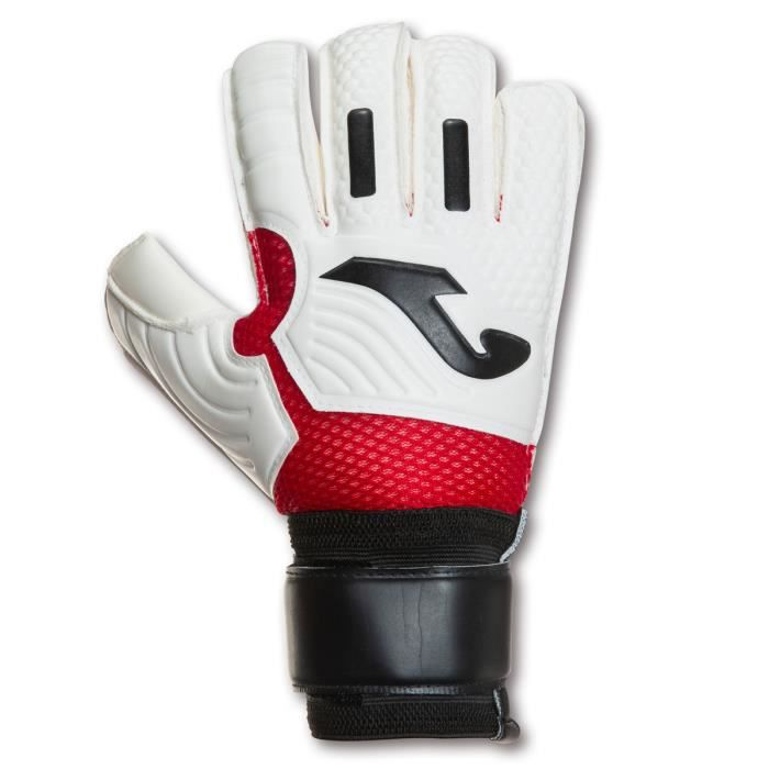 Gants Joma CALCIO 20 - blanc/rouge/noir - 7