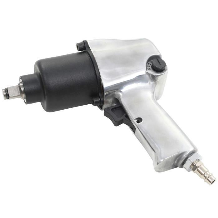 Clé à chocs pneumatique 1-2- 680 Nm