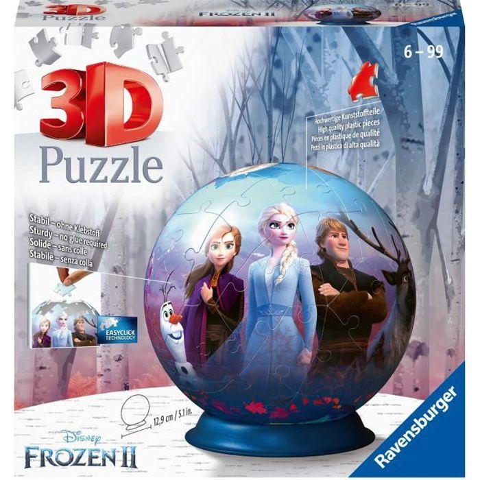Puzzle 3D Ball 72 p - Disney La Reine des Neiges 2