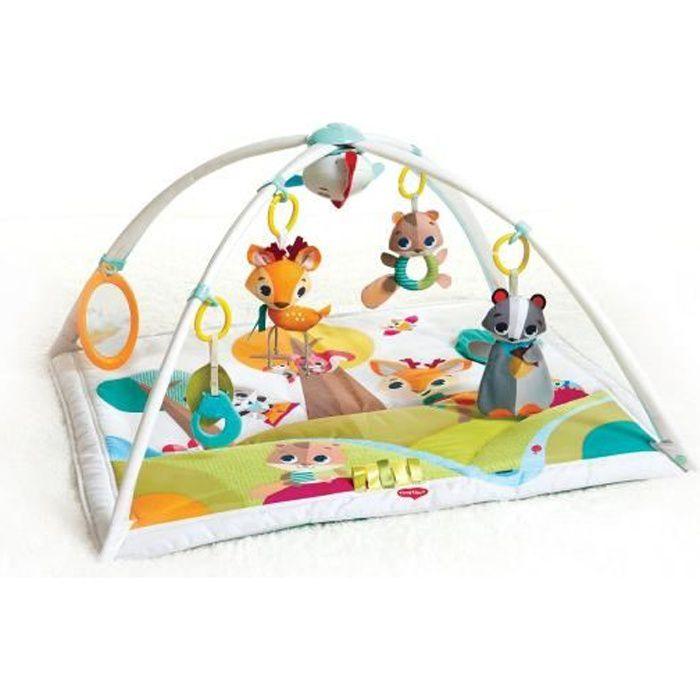 Tiny Love Tapis d'éveil bébé Musical , Dès la naissance, Collection Dans la forêt, 88 x 78 cm