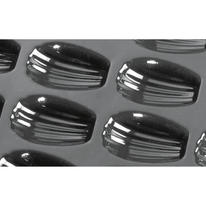 Moule à madeleines Flexipan - 7,8 x 4,7 cm