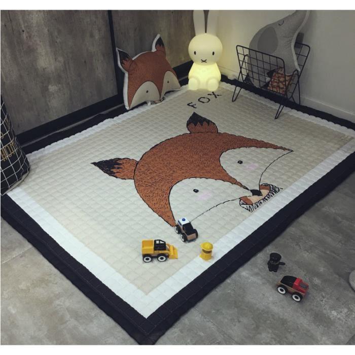 Tapis Enfant Num/érique Rampant Coussin Lavable Antid/érapant B/éb/é D/écoration de Chambre