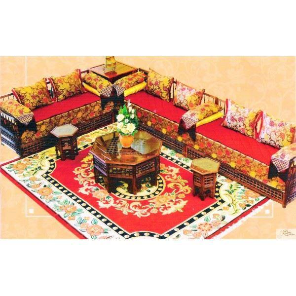 Salon Marocain Traditionnel Complet FANTASIA en… - Achat ...