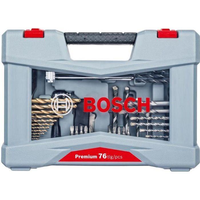 Bosch titane forets et tournevis set 70 pièces 1 neuf