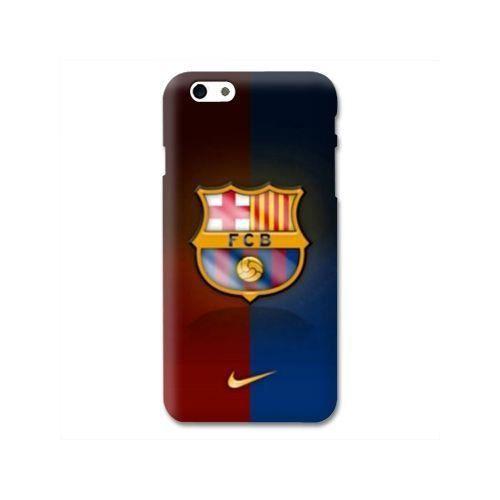 coque compatible iphone 7 8 fc barcelone bicolor