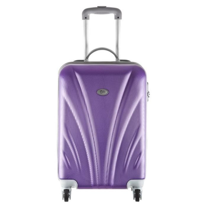 corinne cobson valise layla violet taille m achat vente valise bagage valise layla violet. Black Bedroom Furniture Sets. Home Design Ideas
