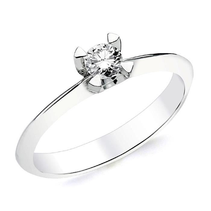 bague or blanc diamant moins de 200 euros