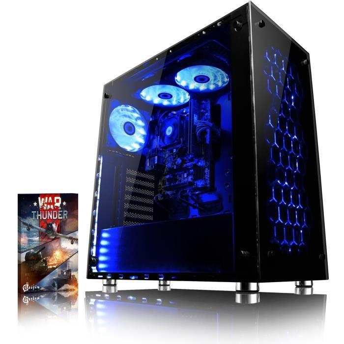 UNITÉ CENTRALE  VIBOX Nebula GS350T-8 PC Gamer Ordinateur avec Jeu