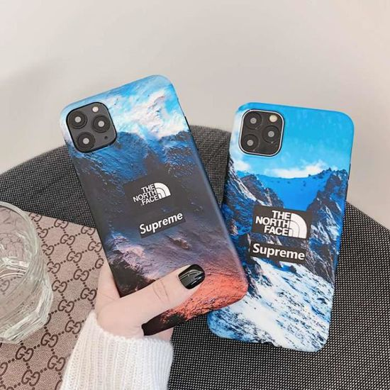 coque iphone 11 pro max supreme the north face ant