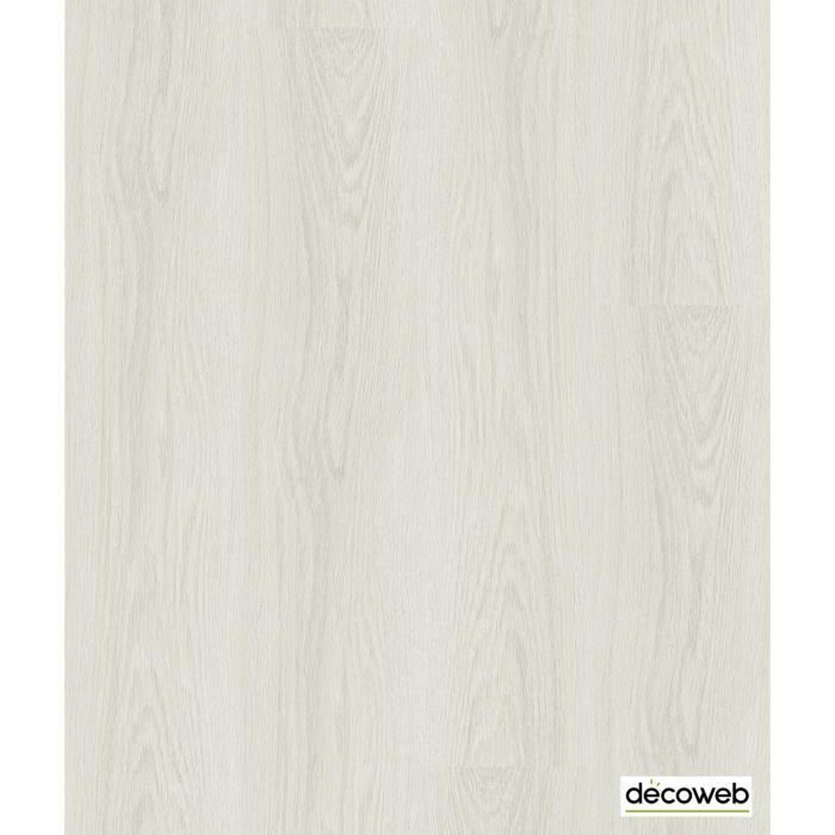 Parquet En Chene Blanchi lames sol pvc clipsables imitation parquet chêne blanchi