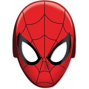 MASQUE - DÉCOR VISAGE Masques Spiderman Ultimate x8