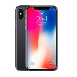 SMARTPHONE APPLE iPhone X 64 Go Noir