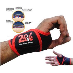 2fit support de poignet attelle attelle pouce en néoprène enveloppe gym crossfit formation sportive douleur soulagement sangle paire