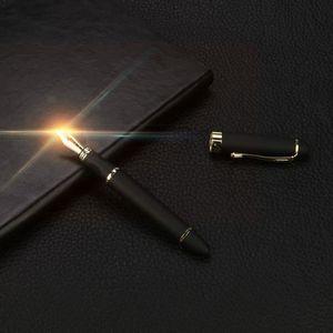 Stylo - Parure Stylo Stylo-plume noir mat givré de luxe JinHao X4