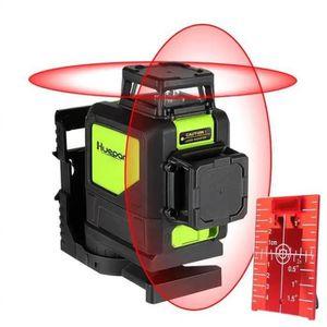 Vert Faisceau Niveau laser diyers huepar Self Leveling Horizontale Mesure vertical