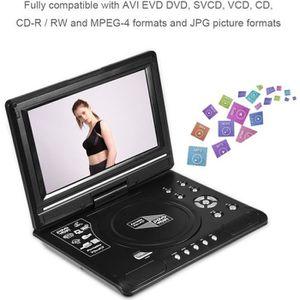 LECTEUR DVD PORTABLE Lecteur DVD Portable Ecran Rotatif 9 pouce