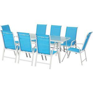 Salon de jardin Bleu - Achat / Vente Salon de jardin Bleu ...