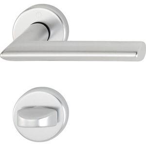 3882301 /Sur Rosace cylindre profil/é Hoppe Poign/ée de Utrecht/ acier inoxydable mat 47/mm 1/pi/èce pour /épaisseur de porte 39