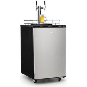 MACHINE A BIÈRE  Klarstein Big Spender Double |  Réfrigérateur pour