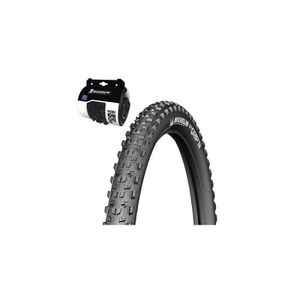 PNEU - CHAMBRE À AIR PNEU 26 x 2.10 MICHELIN WILD GRIP'R TRINGLE SOUPLE