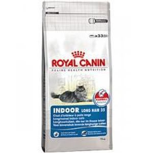 CROQUETTES Royal canin chat indoor long hair 35 10 kg
