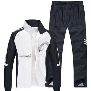 Ensemble de vêtements Jogging survêtement Hommes Sport Training Manches
