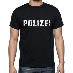 T-SHIRT polizei tshirt, homme tshirt, tshirt avec motif