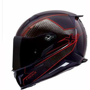 CASQUE MOTO SCOOTER Moto Nexx Casque XR2 Pure Carbon Red L
